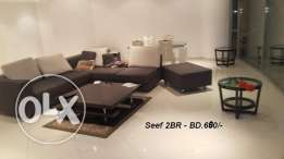 One BR 400-500, 2BR 425–700, 3BR 500-600, Collections of new Apartment