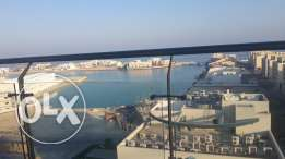 Large balcony / Sea view / 2 bedrooms flat in Amawj Am 24-kwe