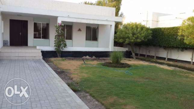 3 Bedroom semi furnished villa for rent with large private garden