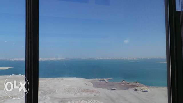 Full sea view 1 bedroom flat for rent in Juffair BD500