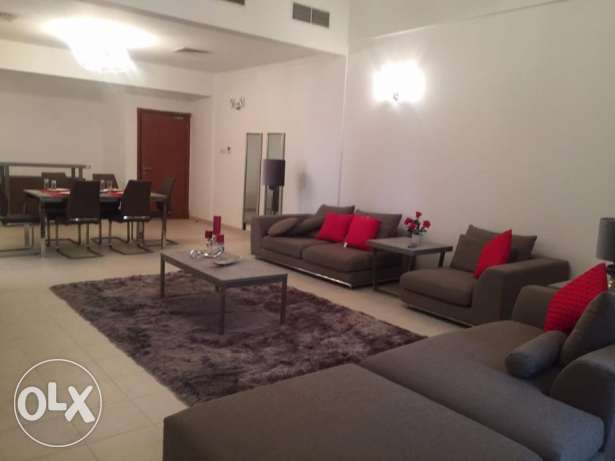Outstanding Three Bedrooms Fully Furnished in Sanabis
