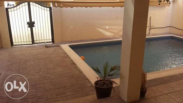 4 Bedrooms semi furnished villa for rent in Juffair with private pool.