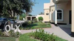semi furnished villa close to Saudi causeway with pool