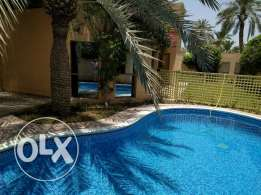 4 Bedroom semi furnished villa with private pool & garden - inclusive