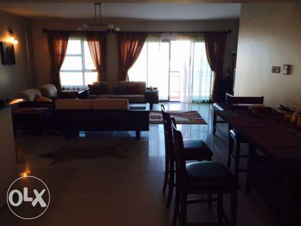 2 bedrooms apartment with modern furniture and amazing Sea views Amwaj Island - image 2