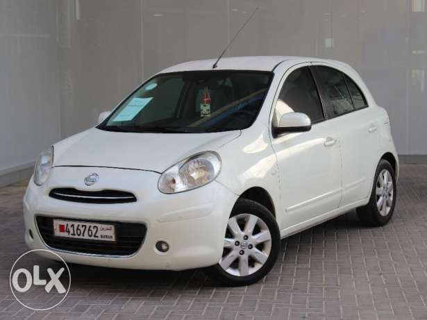 Nissan Micra 2012 White For Sale