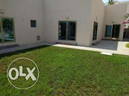Hamal 4 bedroom semi furnished villa for rent with nice garden,pool