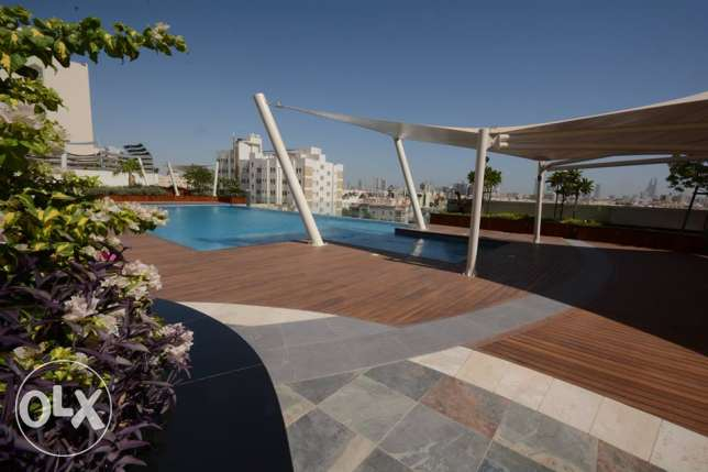 Luxury 1 bedroom flat for rent in Mahooz - easy access to Saudi