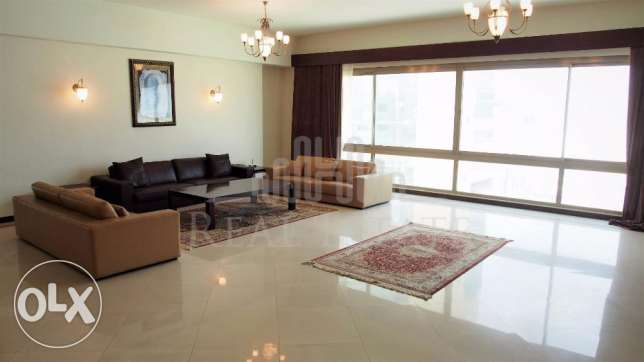 Large furnished Seef apartment for Rent