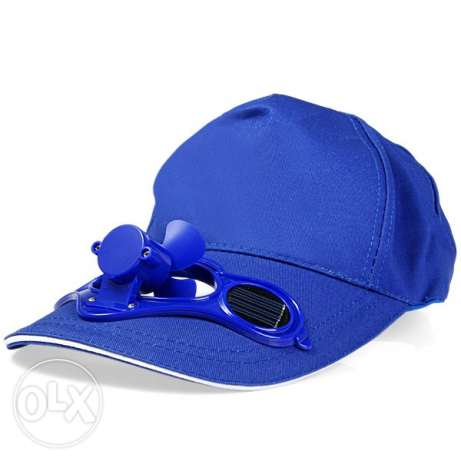 Fashion Solar Power Hat Cap With Cooling Fan Sunhat for Outdoor Golf B