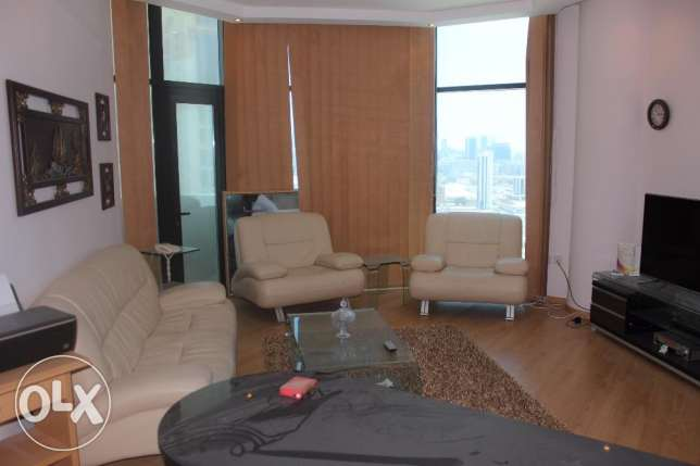 Sea view 1 BR in Burhama near Seef / Balcony