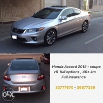 Honda Accord coupe -v6 -full potion