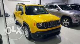 Brand New 0 Km Jeep Renegade warranty 5 years