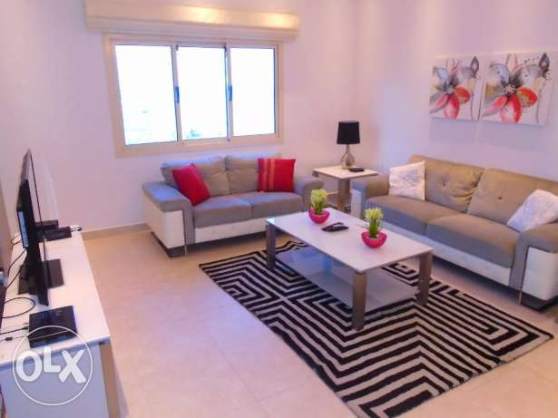 In Juffair apartment 2 bedroom fuly furnished