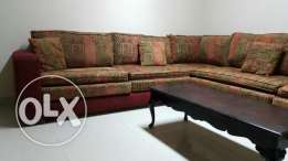 Large L-Shape Sofa with table BD -60