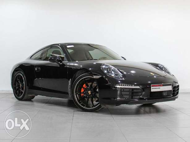 "Porsche 911 Carrera 2014MY ""Approved"" BLACK"