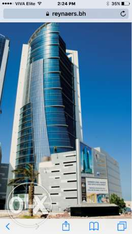 Business office in platinum tower for rent