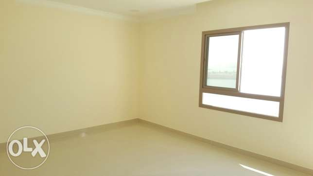 Neew hidd 3 BHK flat; balcony with no furniture