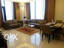 Two bedrooms fully-furnished flat, sea view