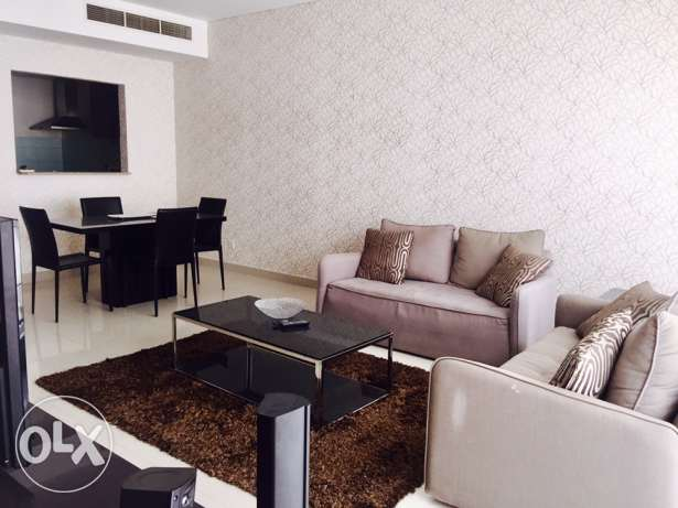 Two bedrooms apartment in Amwaj-Island. جزر امواج  -  1
