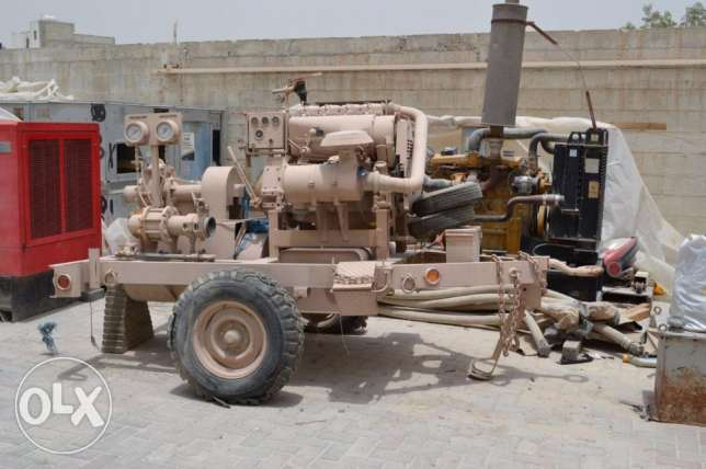 military water pump Peabody Barnes - Deutz Deisel