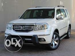 Honda PILOT TOURING 5Dr 3.5L Auto 2014 White For Sale
