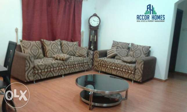 Accor homes - Spacious, fully furnished 2 BHK flat in Hidd 350/month المنامة -  2