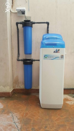 Softner making soft water for all house