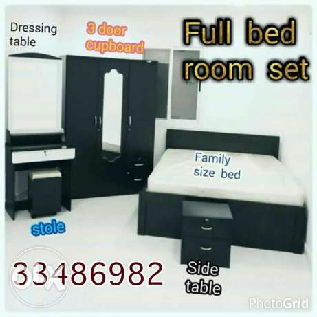 Full bed room set brand new
