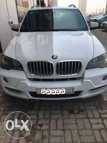 BMW X5, 2008, 8 cylinders 4.8 liters, excellent condition