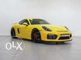"Porsche Cayman GT4 ""Approved"" 2016MY"