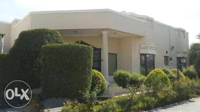 MODERN Single Story FULLY Furnished 4 BR VILLA For RENT.Near Saar Cine