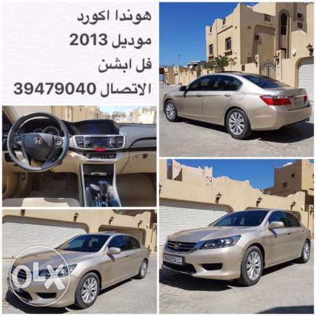 Rush sale HONDA ACCORD 2013/Full Option