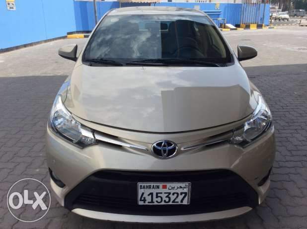 For Sale 2015 Toyota Yaris 1.5E Single Owner Bahrain Agency