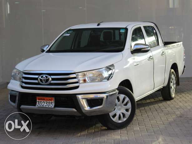 Toyota Hilux Pick-up 2016 White For Sale