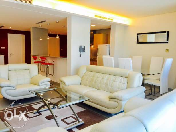 Luxury 2 bedrooms apartment in Amwaj-Island.