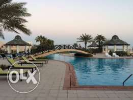 flat 2 bedrooms for rent in amwaj ground floor