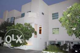 SMA1 4br semi furnished villa for rent near salmaniya al hawaj