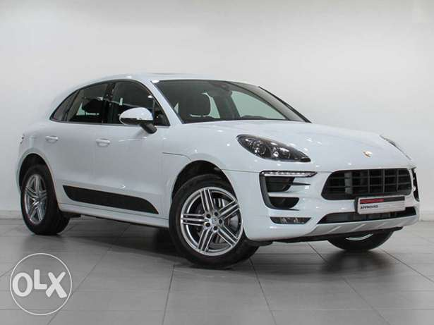 "Porsche Macan 2017MY ""Approved"" White"