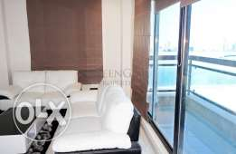 Brand new flat with balcony and sea view in Juffair