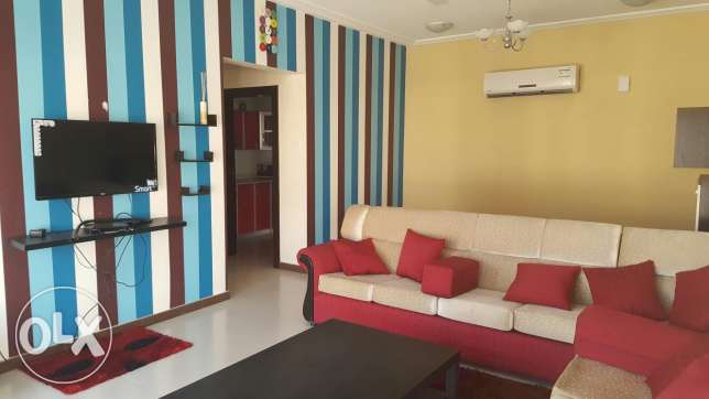 2bhk fully furnished flat in new hidd 350bd inclusive