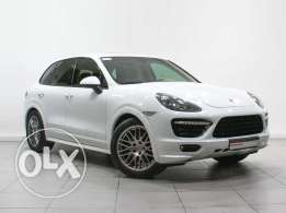 Cayenne GTS Tiptronic (Porsche Approved)