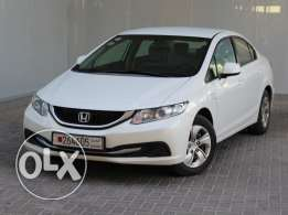 Civic 1.8L 4DR LXi 2013my White For Sale