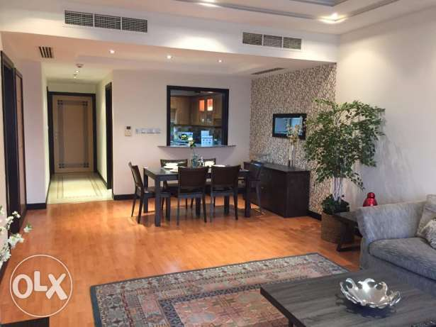 Sea and City view 1 Bedroom flat on higher floor for rent at Abraj