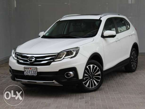 GAC GS5 SUV 2016 White For Sale