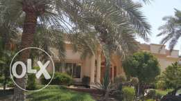 SUPER MODERN Semi Furnished 4 Bedrooms Villa in JANABIYA for Rent