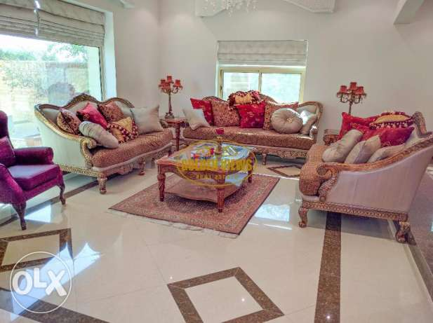 Fully furnished 5 bedroom villa for rent with facility - all inclusive