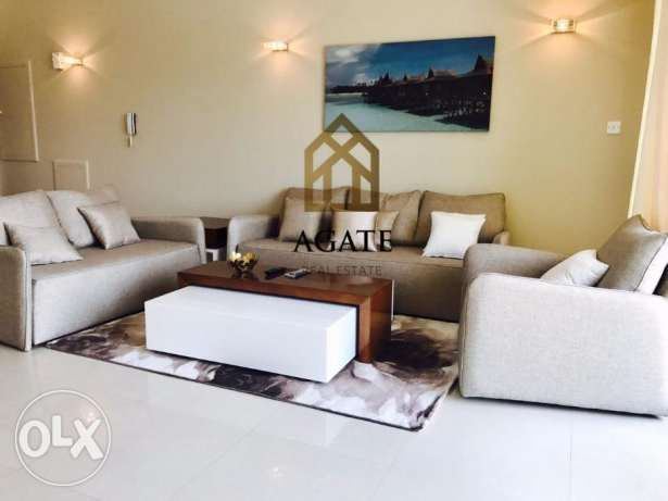 Apartment for rent in Amwaj island with floating city view