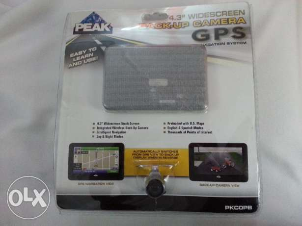 Brand New PEAK Brand GPS with wireless Backup Camera for Sale