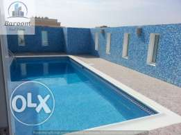 Hidd- Semi furnished flat with 2 bedrooms/inclusive